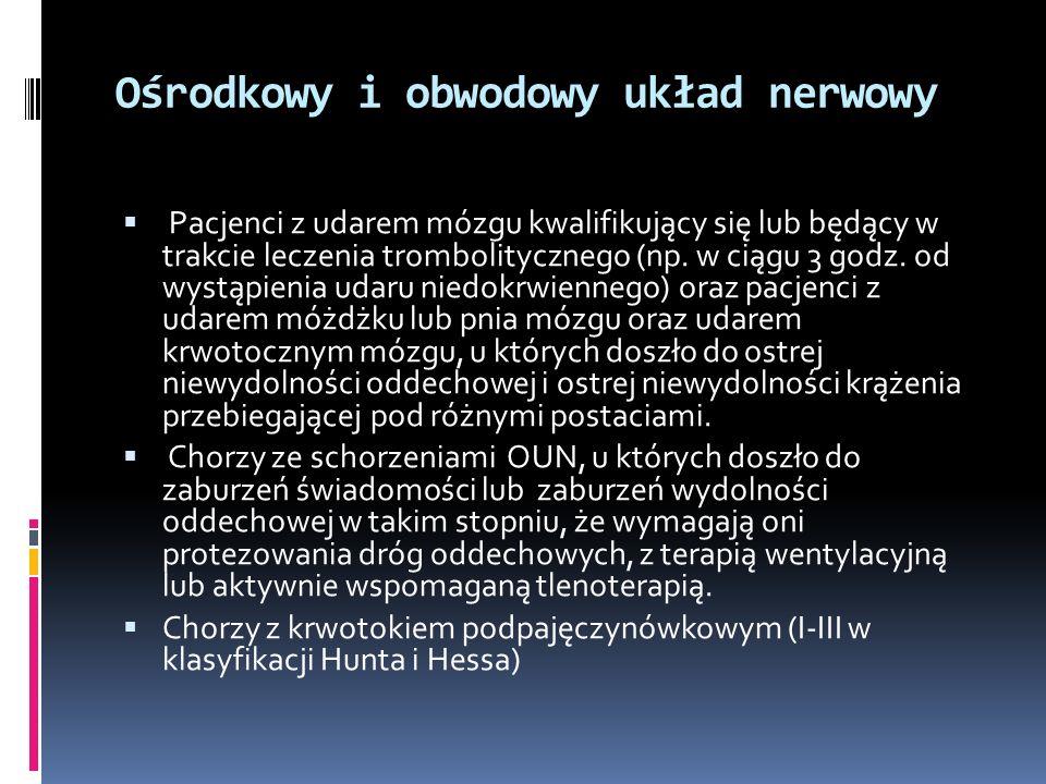 Ośrodkowy i obwodowy układ nerwowy