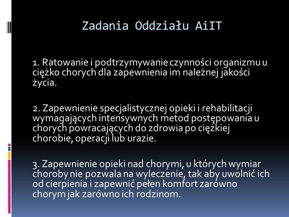 Zadania Oddziału AiIT