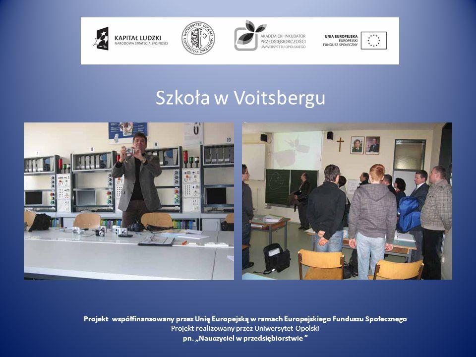 Szkoła w Voitsbergu Projekt współfinansowany przez Unię Europejską w ramach Europejskiego Funduszu Społecznego.