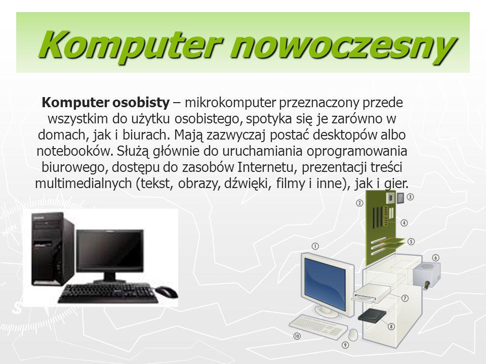 Komputer nowoczesny