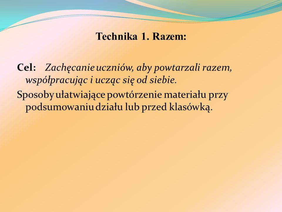 Technika 1. Razem: