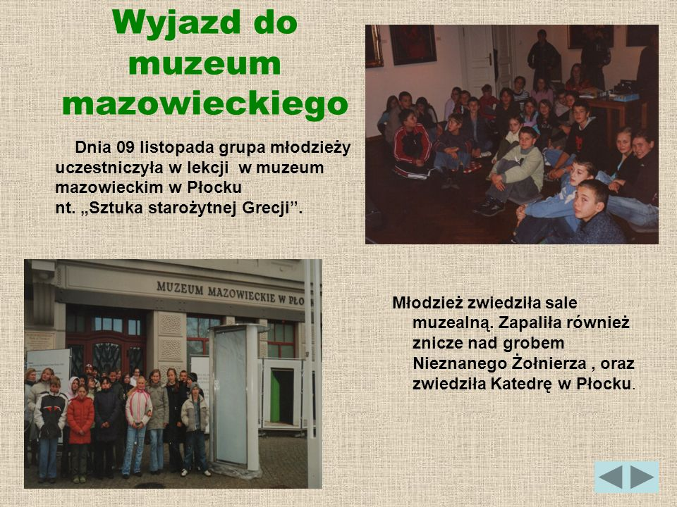 Wyjazd do muzeum mazowieckiego