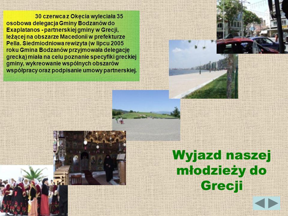 Wyjazd naszej młodzieży do Grecji