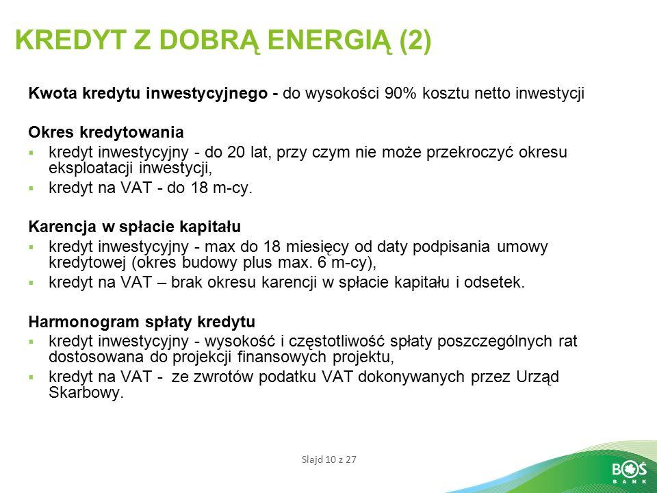 KREDYT Z DOBRĄ ENERGIĄ (2)
