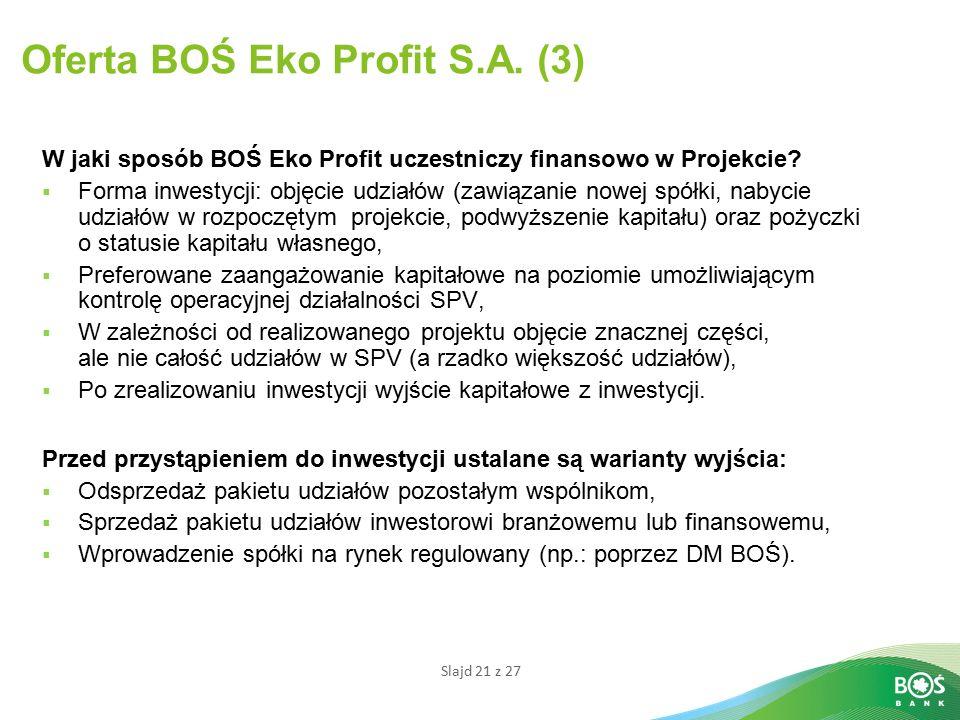 Oferta BOŚ Eko Profit S.A. (3)