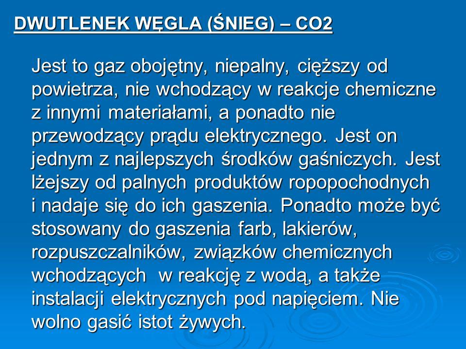DWUTLENEK WĘGLA (ŚNIEG) – CO2