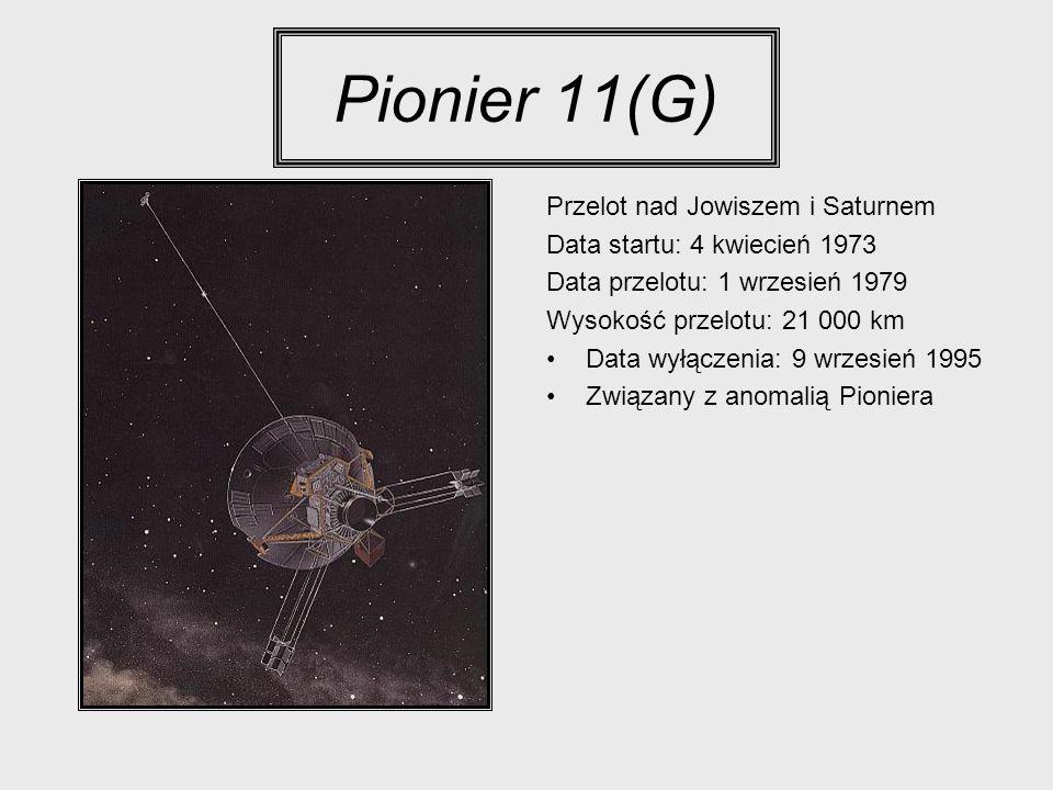 Pionier 11(G) Przelot nad Jowiszem i Saturnem