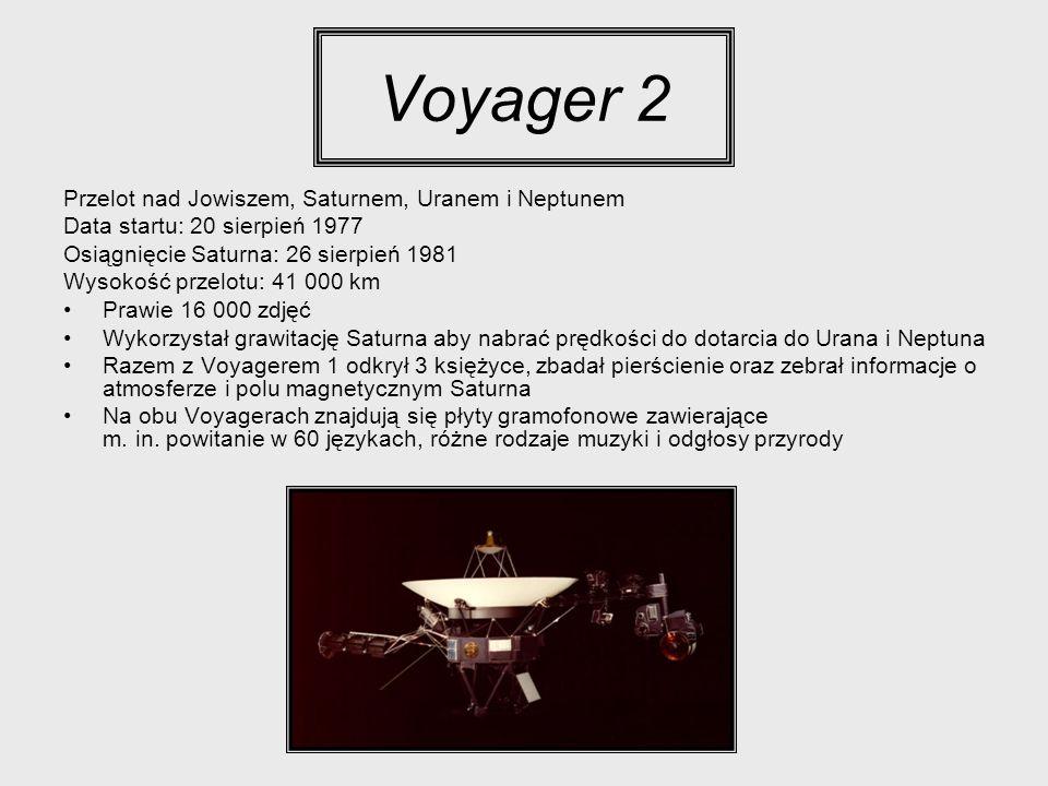 Voyager 2 Przelot nad Jowiszem, Saturnem, Uranem i Neptunem