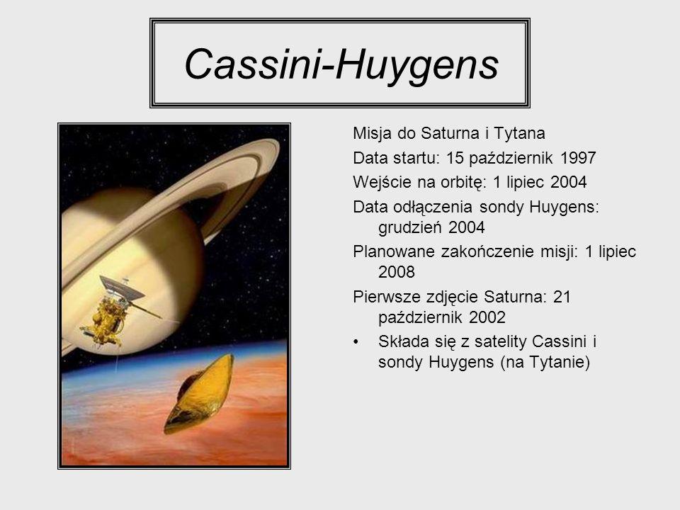 Cassini-Huygens Misja do Saturna i Tytana