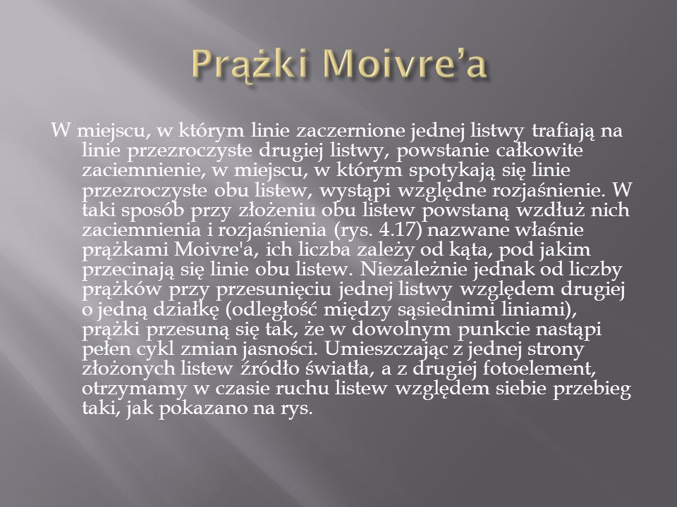 Prążki Moivre'a