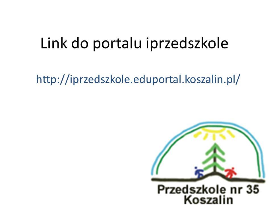 Link do portalu iprzedszkole