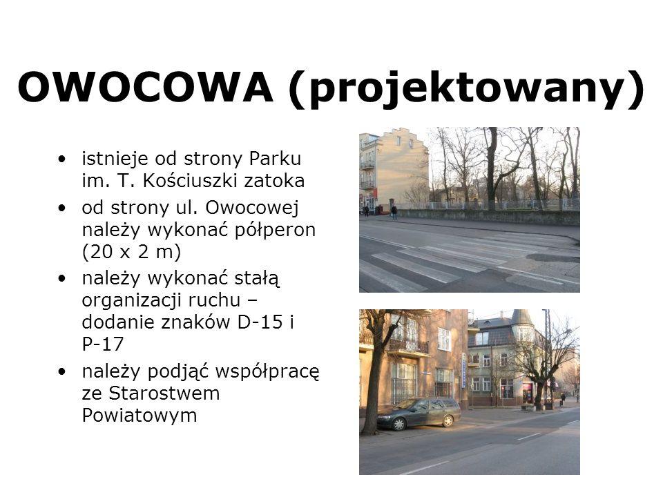 OWOCOWA (projektowany)