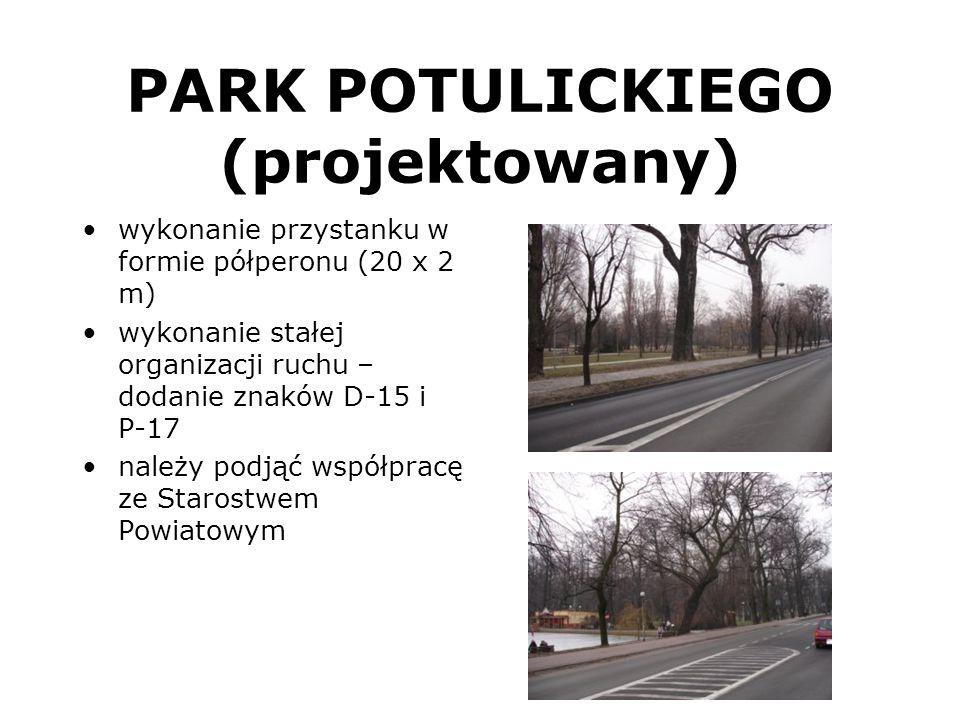 PARK POTULICKIEGO (projektowany)