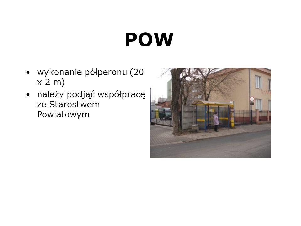 POW wykonanie półperonu (20 x 2 m)
