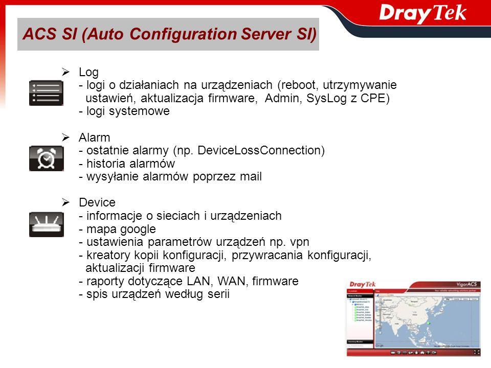 ACS SI (Auto Configuration Server SI)