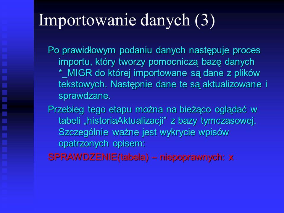 Importowanie danych (3)