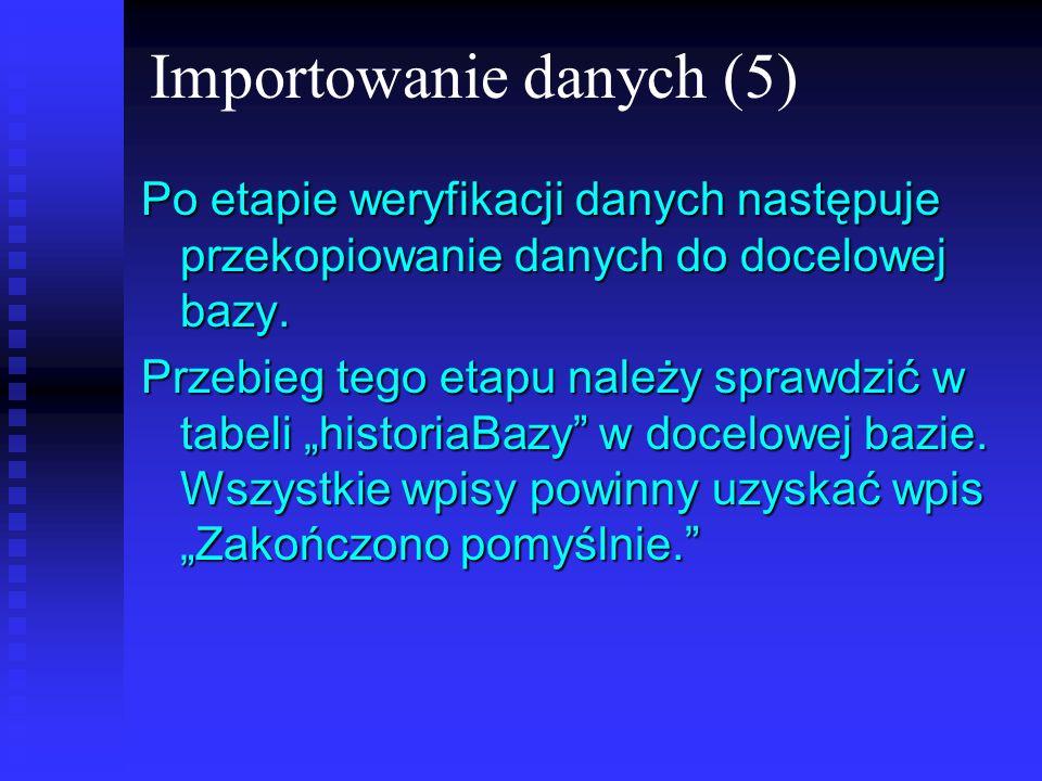 Importowanie danych (5)