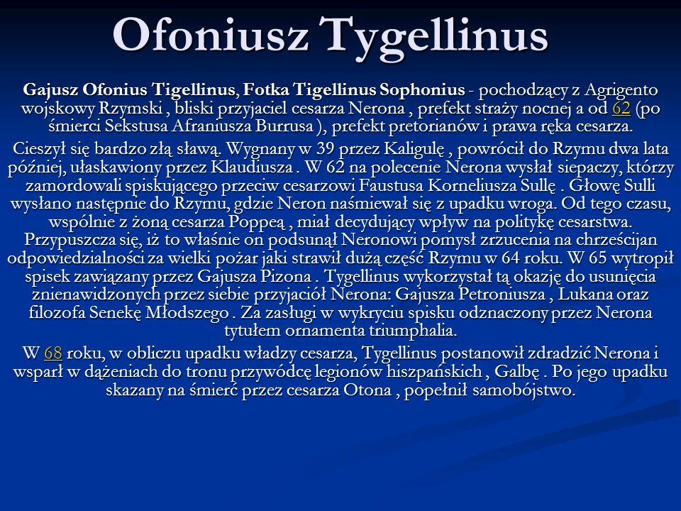 Ofoniusz Tygellinus