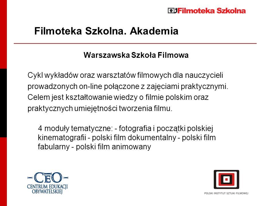 Filmoteka Szkolna. Akademia