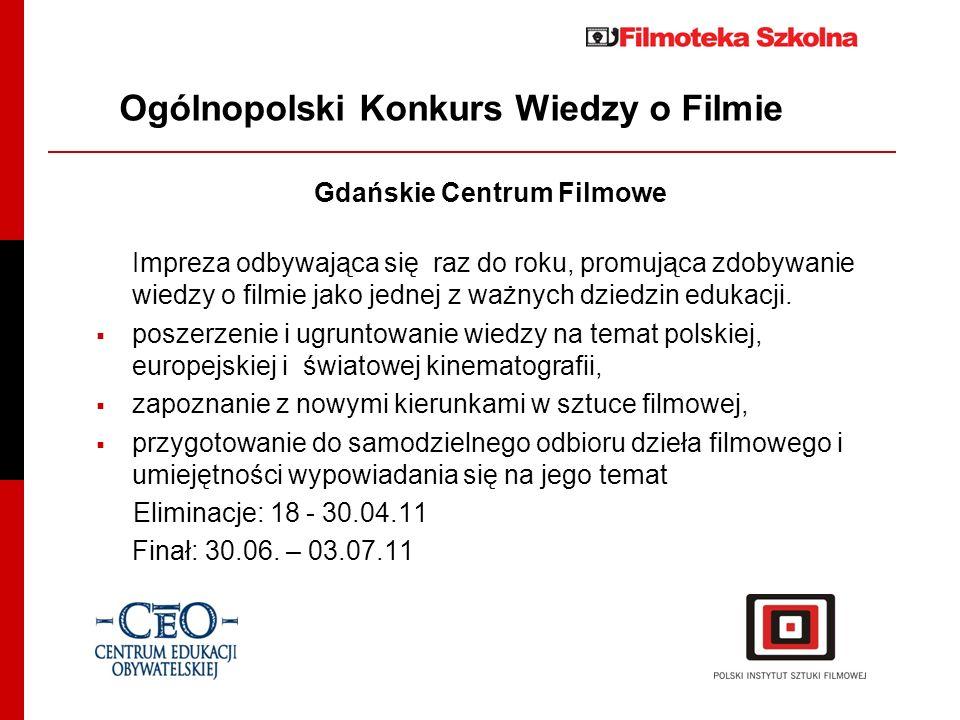 Ogólnopolski Konkurs Wiedzy o Filmie
