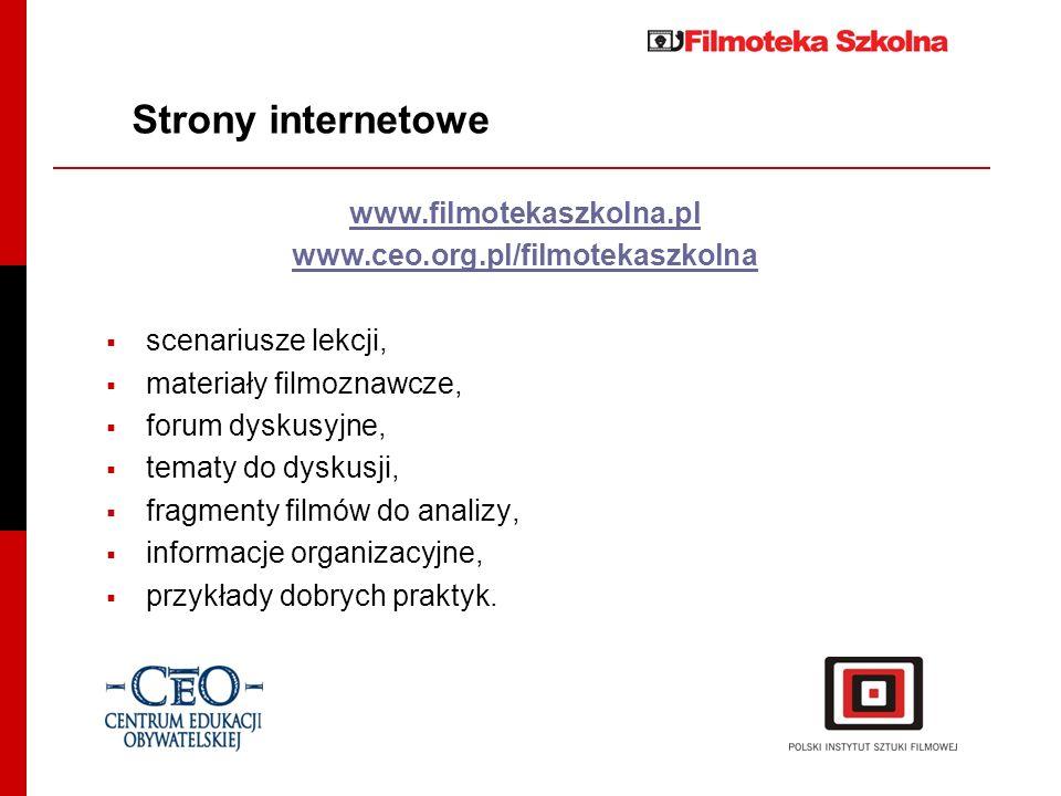 Strony internetowe www.filmotekaszkolna.pl