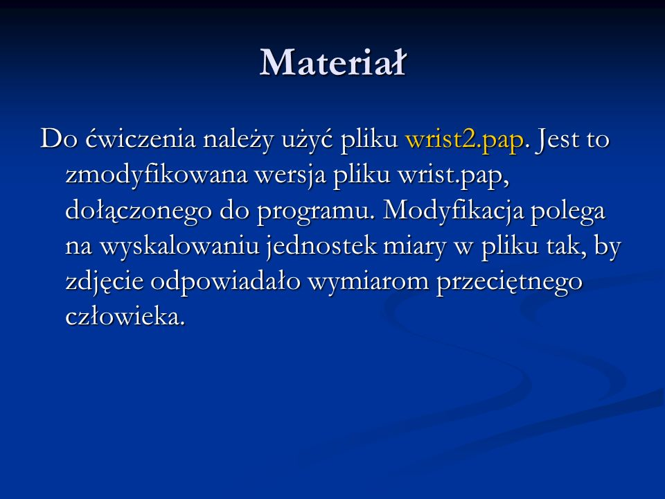 Materiał