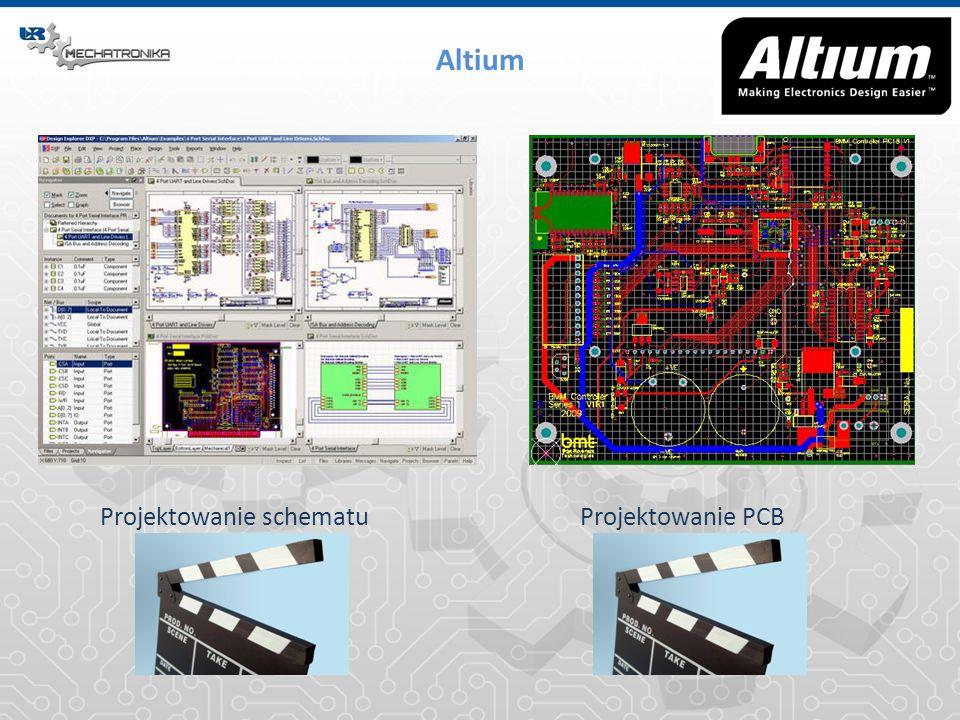 Altium Projektowanie schematu Projektowanie PCB