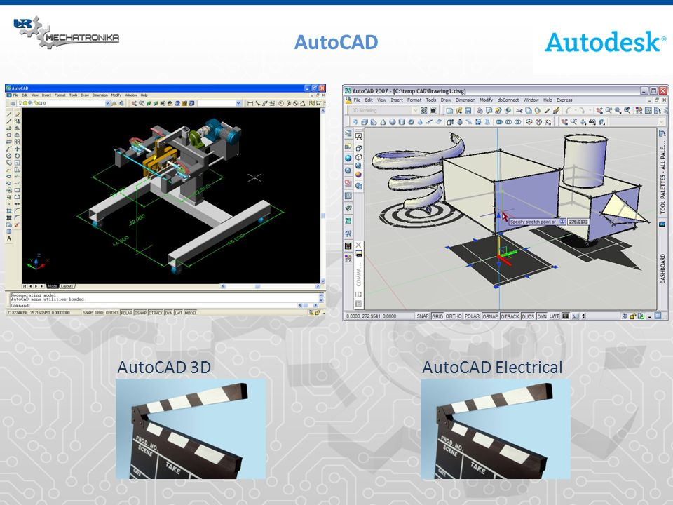 AutoCAD AutoCAD 3D AutoCAD Electrical