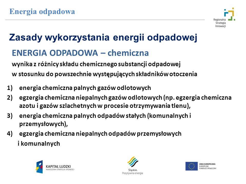 Zasady wykorzystania energii odpadowej