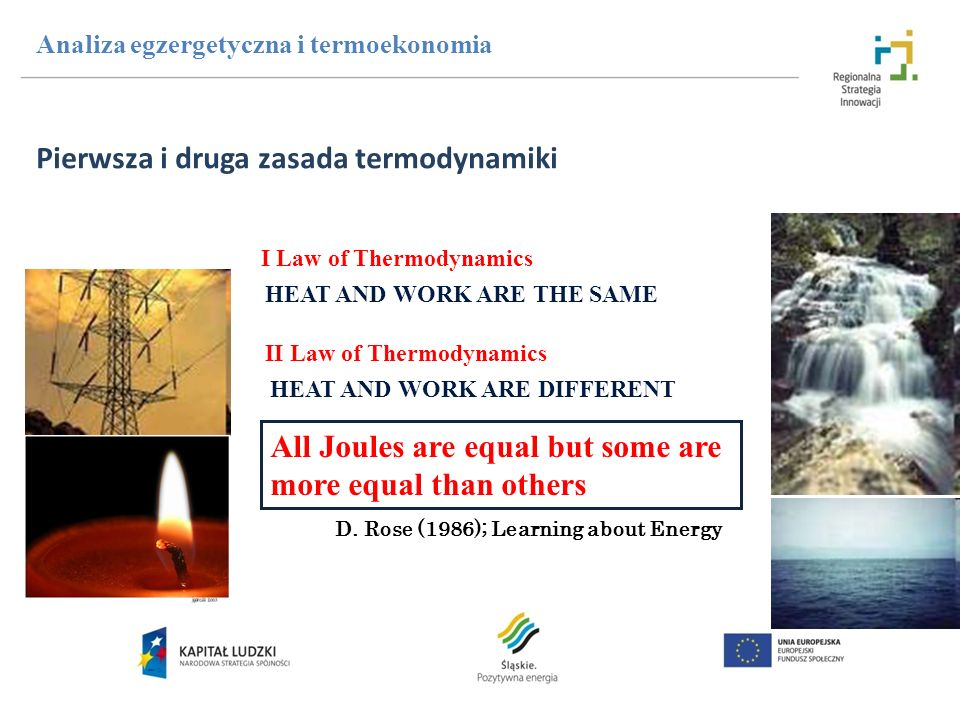 Pierwsza i druga zasada termodynamiki