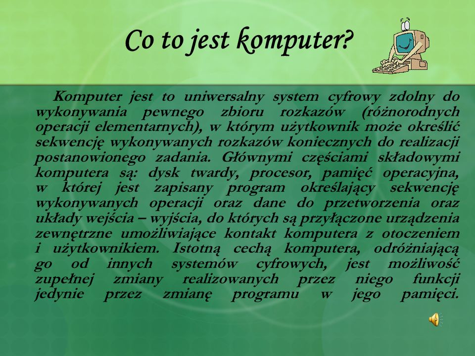 Co to jest komputer