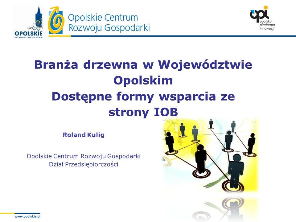 Branża drzewna w Województwie Opolskim