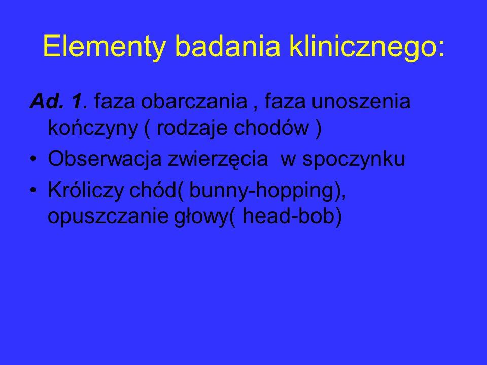 Elementy badania klinicznego: