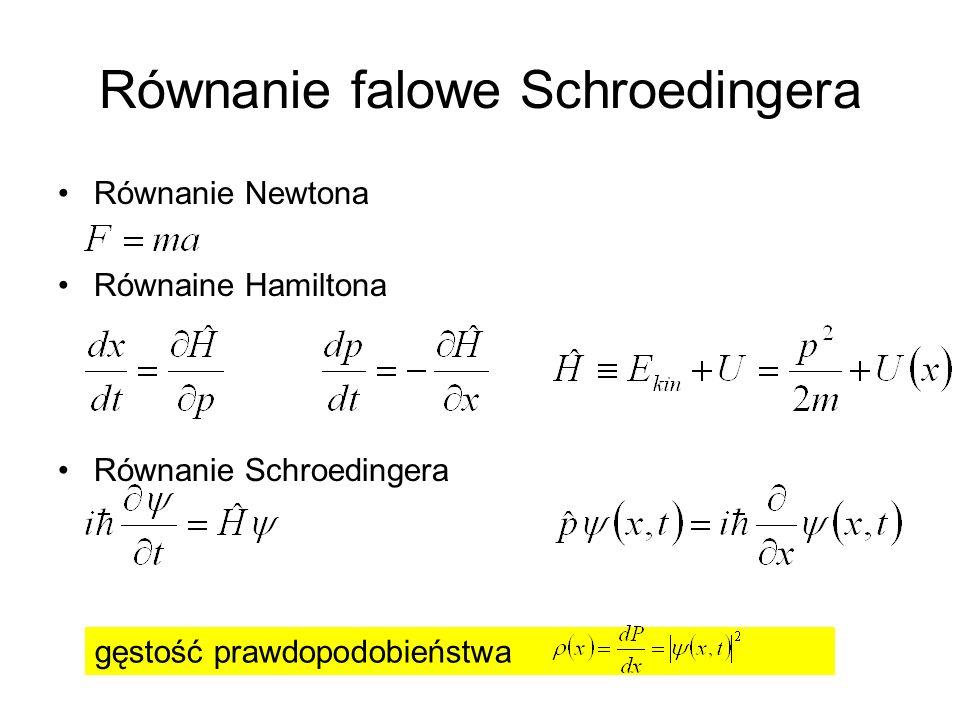 Równanie falowe Schroedingera