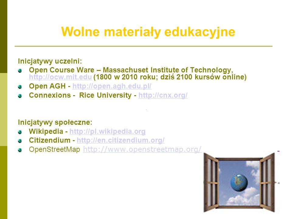Wolne materiały edukacyjne