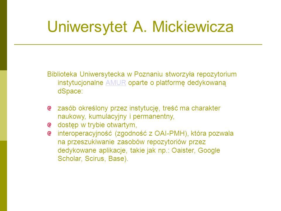 Uniwersytet A. Mickiewicza