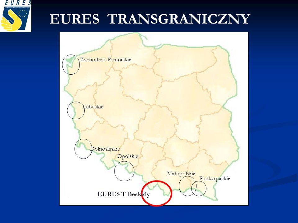 EURES TRANSGRANICZNY EURES T Beskidy Zachodnio-Pomorskie Lubuskie