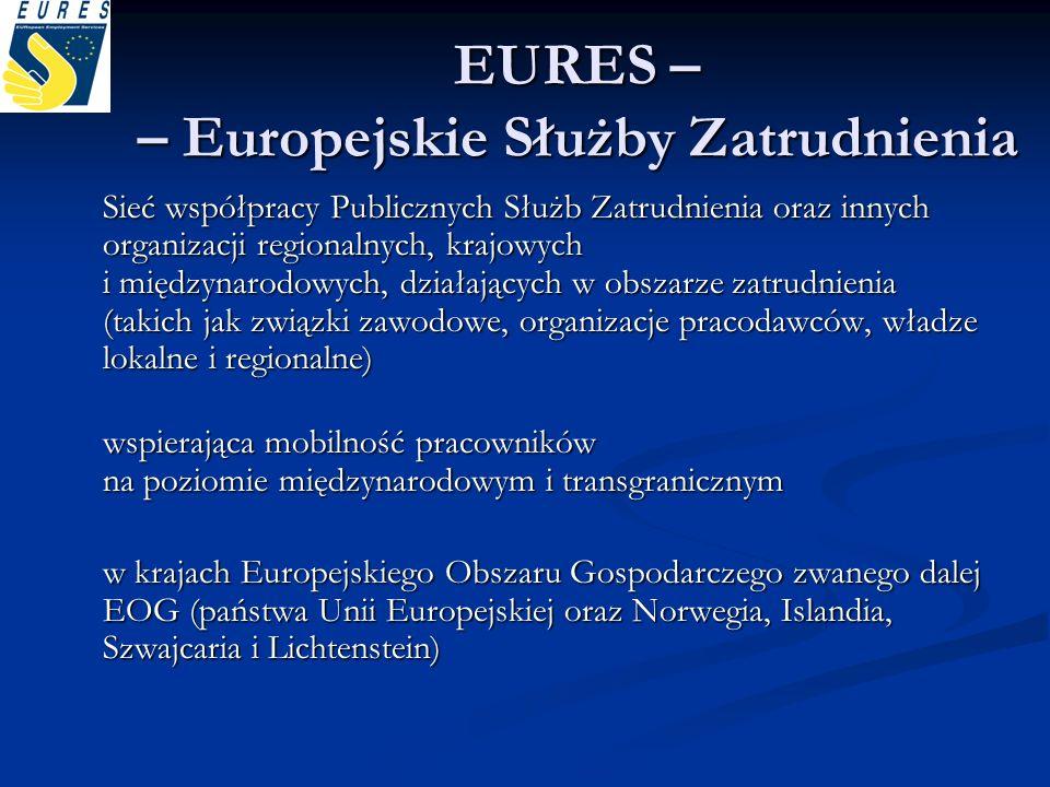 EURES – – Europejskie Służby Zatrudnienia