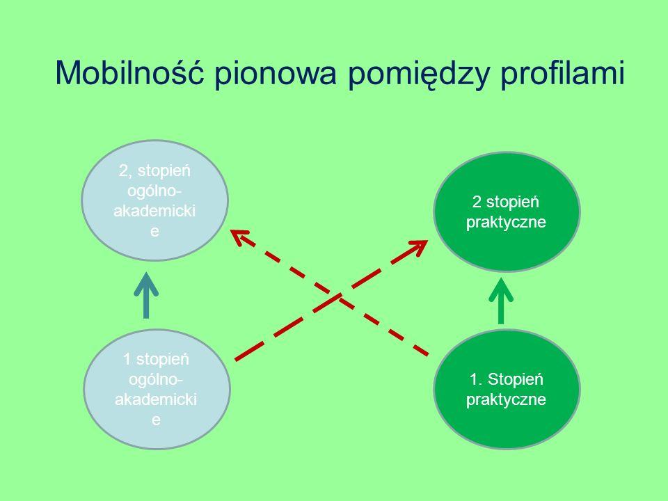 Mobilność pionowa pomiędzy profilami