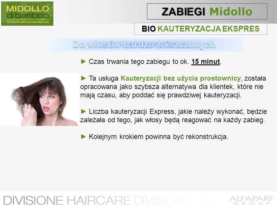 BIO KAUTERYZACJA EKSPRES Do włosów bardzo zniszczonych