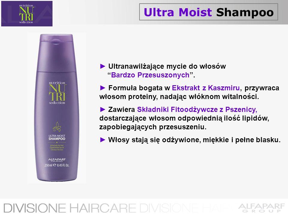 Ultra Moist Shampoo ► Ultranawilżające mycie do włosów Bardzo Przesuszonych .