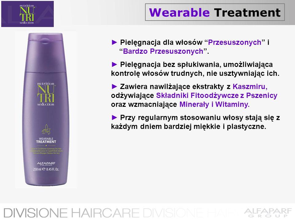 Wearable Treatment► Pielęgnacja dla włosów Przesuszonych i Bardzo Przesuszonych .