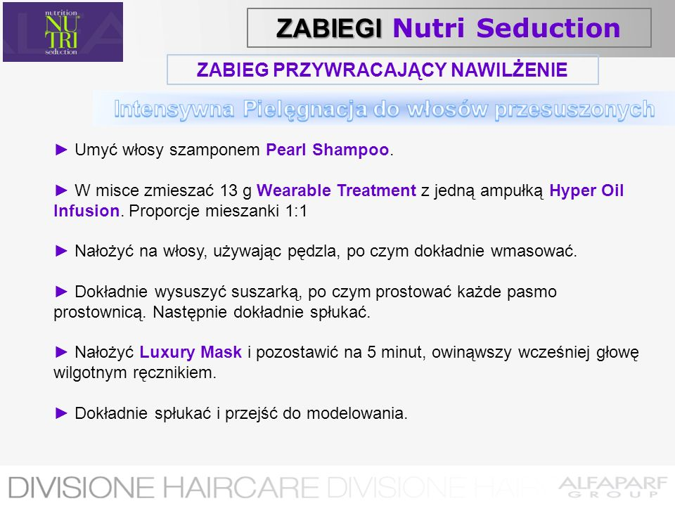 ZABIEGI Nutri Seduction