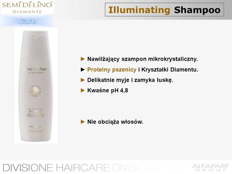 Illuminating Shampoo Care ► Nawilżający szampon mikrokrystaliczny.