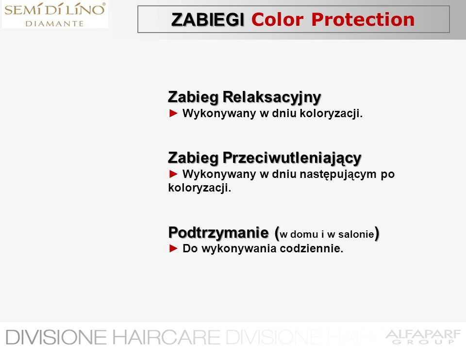 ZABIEGI Color Protection