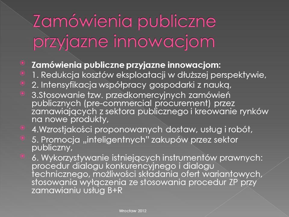 Zamówienia publiczne przyjazne innowacjom