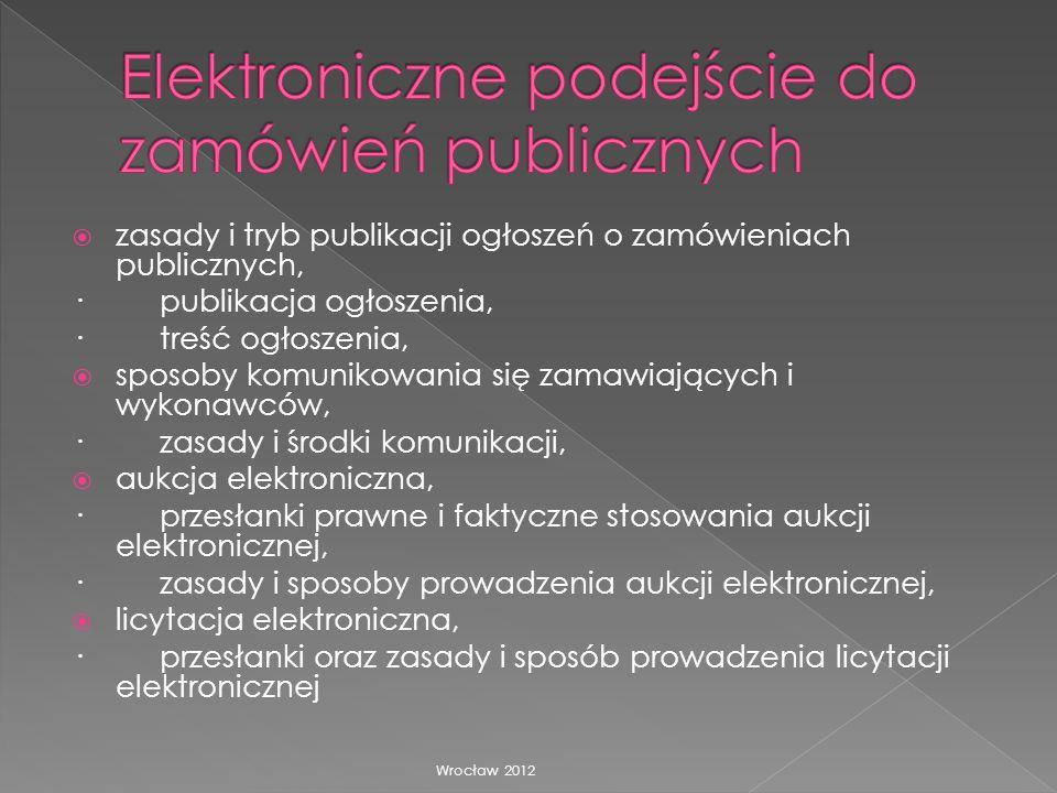 Elektroniczne podejście do zamówień publicznych