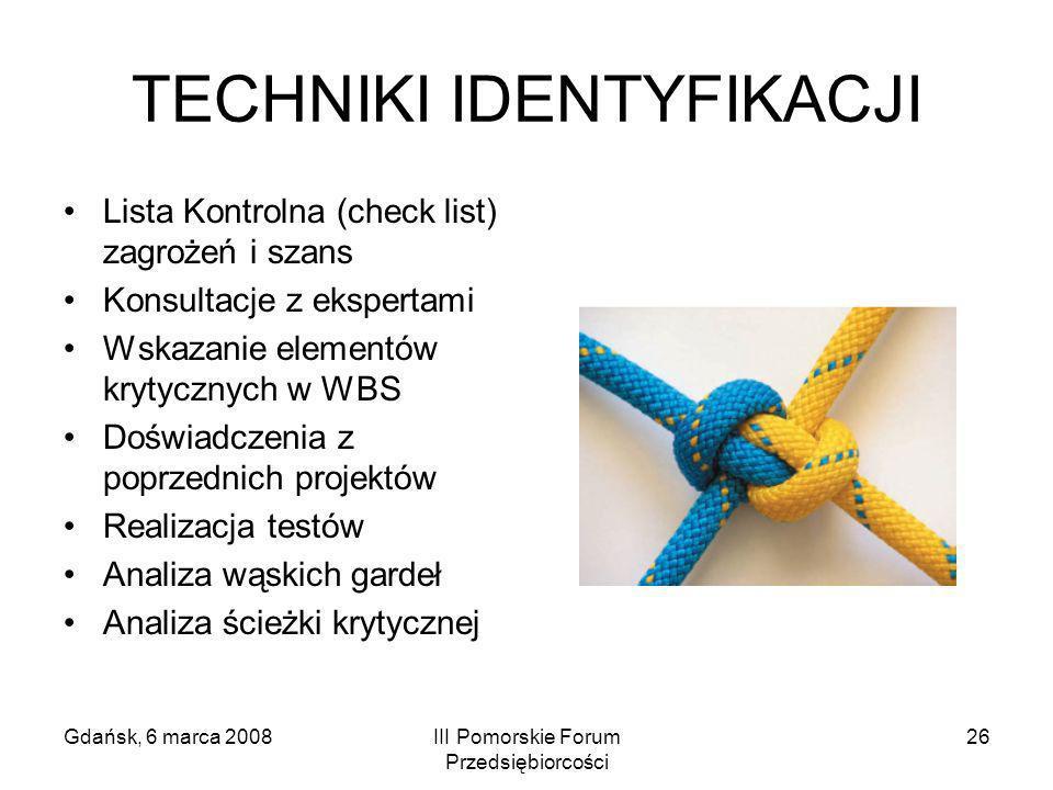 TECHNIKI IDENTYFIKACJI