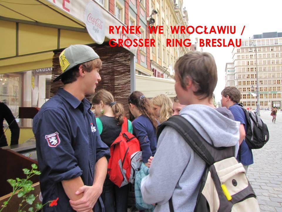 RYNEK WE WROCŁAWIU / GROSSER RING BRESLAU