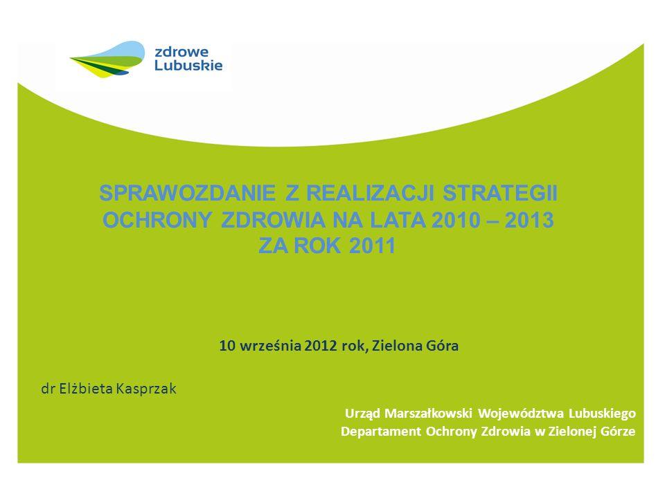 10 września 2012 rok, Zielona Góra